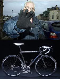 Robert Stewart plus bike